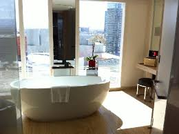 bathroom suite mandarin: mandarin oriental las vegas city scape suite bathroom