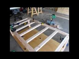 diy day bed part 1 rough frame and design building frame day bed