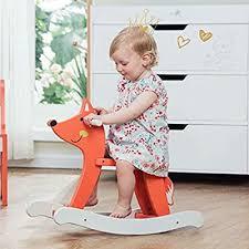 labebe - Baby Rocking Horse, Wooden Fox Rocker for ... - Amazon.com