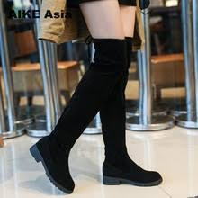 donna in autumn spring ankle boots women stretch high heels square toe female stock rivet shoes 2018 new arrival