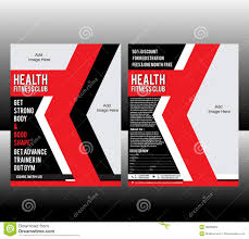 fitness flyer template stock images image  fitness flyer template