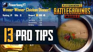 13 Pro Tips to Improve Your <b>PUBG MOBILE Game</b> - YouTube