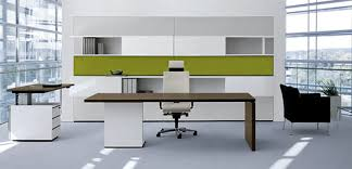 awesome design ideas of home office furniture with brown wooden office desk and white color storage astonishing home office interior design ideas
