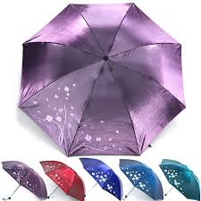 Becautiful <b>Flower</b> 3 <b>Folding Umbrella</b> Woman Anti <b>UV</b> Sun ...