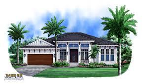 Key West House Plans   Weber Design GroupWest Indies Floor Plan