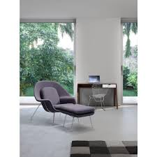 nursery light gray fabric lounge and ottoman cbe heated cooled chair
