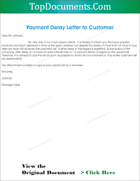 letter to client informatin for letter payment delay letter to client top docx