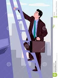 man climbing up the corporate ladder stock image image  man climbing up the corporate ladder