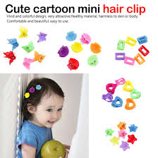 <b>10PCS</b>/<b>Lot</b> Fashion Small Hairpin For Girls Candy Color Plastic Mini ...
