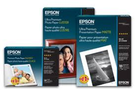 "<b>UltraSmooth Fine Art</b> Paper, 24"" x 50', 1 roll - <b>Epson</b>"