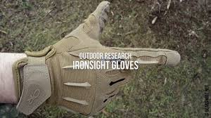 Обзор стрелковых <b>перчаток Outdoor Research</b> Ironsight Gloves