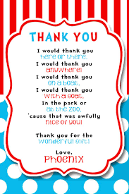 17 best ideas about birthday thank you cards dr seuss party thank you