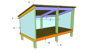 Double Dog House Plans   MyOutdoorPlans   Free Woodworking Plans    Building a double dog house