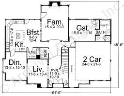 Walloston House Plans   Home Plans By Archival DesignsWalloston House Plan   House Plan   Cape Cod   First Floor Plan