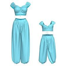 Jasmine <b>Costume Princess Dress</b> Up Aladdin <b>Cosplay</b> Accessories ...