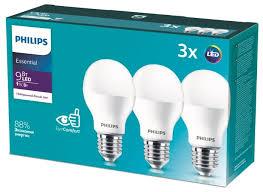 Купить Упаковка светодиодных <b>ламп</b> 3 шт <b>Philips Essential</b> LED ...