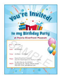 email birthday party invitation templates ctsfashion com birthday invitation templates word invites template party