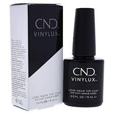 CND Vinylux Long Wear Top Coat , 0.5 fluid ounce ... - Amazon.com