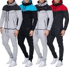 AliExpress <b>Zogaa Mens Track</b> Suit Casual 2 Piece Set Fashion ...