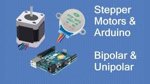 <b>Stepper Motors</b> with Arduino - Controlling Bipolar & Unipolar stepper ...