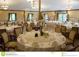Round Function Tables Round Banquet Tables Royalty Free Stock Image Image 5851396