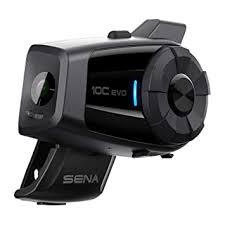 <b>SENA 10C EVO</b> Motorcycle <b>Bluetooth</b> Camera and: Amazon.in ...