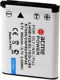<b>Аккумулятор ACME POWER AP</b>-<b>LI</b>-40B для OLYMPUS (3.7V, 660 ...