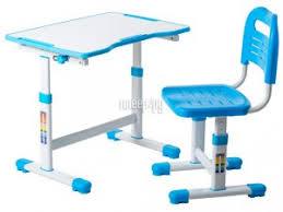 Купить <b>FunDesk Sole II</b> Blue со стулом по низкой цене в Москве ...