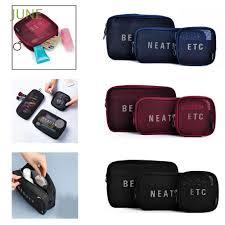 Box <b>Mesh Cosmetic Bag</b> Storage Package Organizer Travel ...