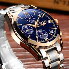 <b>LIGE Men's Watches</b> Top Brand <b>Men's Automatic</b> Mechanical <b>Watch</b> ...