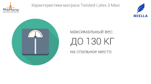 <b>Матрас Miella Twisted Latex 3</b> Maxi - YouTube