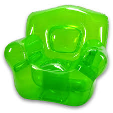 blowup furniture garden green inflatable chair blowup furniture
