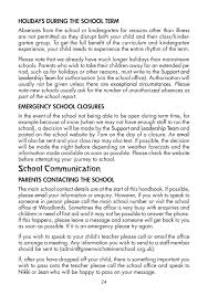 greenwich steiner school gss parents handbook 2016 17 page 24 general information will be conveyed to parents via email text message or our newsletter anything to do your child specifically will come