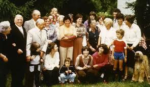 1979 Goldhochzeit Eheleute Paula und Hans Wilden. 1979 mit Einwohnern von Hammer - Hammer-WildenFamilie-1979-GoldeneHochzeit