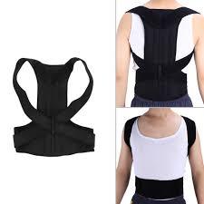 <b>Adjustable</b> Adult Back Corset Spine Support Belt Lumbar Back ...