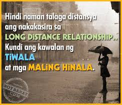 Pinoy Long Distance Relationship Love Quotes and Sayings - Boy Banat via Relatably.com