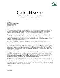 cover letter for marketing informatin for letter cover letter marketing intern cover letter fashion marketing