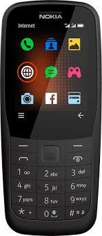 <b>Мобильный телефон Nokia 220</b> DS, черный
