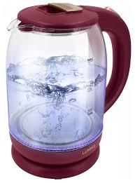 Купить Чайник <b>Lumme LU-142</b>, <b>красный рубин</b> по низкой цене с ...