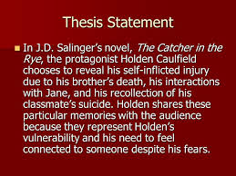 the catcher in the rye final essay test topic choose three vivid