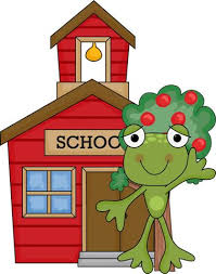 Image result for education frog clipart