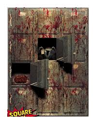 Bloody <b>Horror GIANT</b> MORGUE WALL GORE DEC- Buy Online in ...