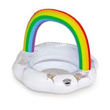 <b>Круг надувной</b> детский <b>BigMouth rainbow</b>, разноцветный купить ...