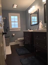 blue bedroom paint comfortable white trim