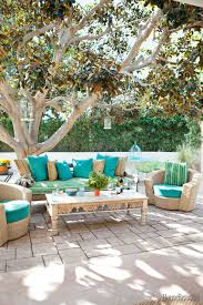 outdoor living spaces gallery  gallery bfedea outdoor vintage sofa and coffee table nickey kehoe  s