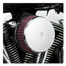 aftermarket motorcycle parts air cleaner filter intake for harley davison softail fat boy dyna street bob wide glide black
