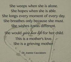 Losing A Child on Pinterest   Grieving Mother, Child Loss and ... via Relatably.com