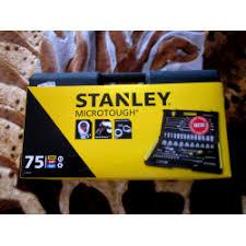 Отзывы о <b>Набор торцевых головок Stanley</b>