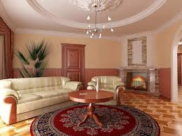 room paint red: wonderful living room paint ideas with modern style and cream combine with soft red wall color