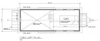 Ynez Tiny House on Wheels by Oregon Cottage CompanyYnez Tiny House Floor Plan Ynez Tiny House Floor Plan
